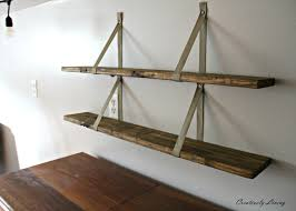 Shelves Made From Pallets Diy Wood Pallet Shelves Creatively Living Blog