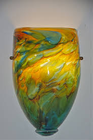 wall art designs best shocking art glass wall sconce with