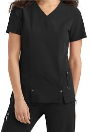 82851 Dickies Xtreme Stretch Womens V Neck Top
