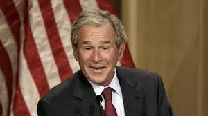 Former President George W Bush Casts His Vote And It Might