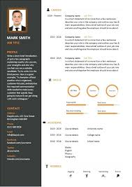 Contemporary Resume Format Magnificent Modern Resume Format Templates Create Free Contemporary Samples For