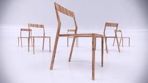 Scandinavian Design Chair by Alex