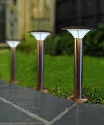 garden lamp. 5w Modern LED Bollard Garden Lamp Post Stainless Steel Outdoor Cool White Light: Amazon.co.uk: Lighting L