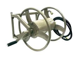 wall mount hose reel view larger swivel metal by steel ft parts garden never leak liberty