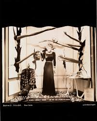 Untitled. Mannequin with head of <b>red roses</b> and fingernails of ermine ...