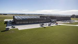 christchurch helicopter firm takes off with new 25m headquarters stuff co nz