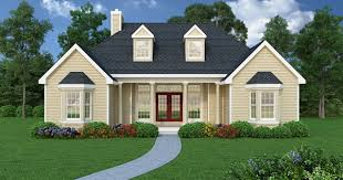 4676frontneweb affordable ranch 4676 3 bedrooms and 2 5 baths the house designers on inexpensive ranch home plans