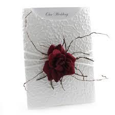 invitations c6 glamour pocket embossed roses white & red Red Velvet Wedding Invitations wedding invitations c6 glamour pocket embossed roses white & red Wedding Invitation Templates