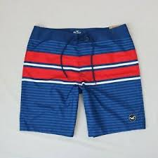 Hollister Bottoms Size Chart Details About Hollister Men Classic Board Swim Shorts Size 36 New With Tags