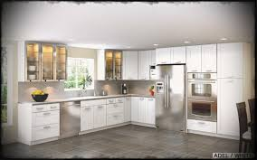 modern white kitchens ikea. Appliances Awesome White Ikea Kitchen With Cabinet From Microwave Modern Kitchens A