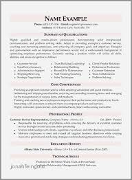 Examples Of Skills On A Resume For Customer Service Beautiful