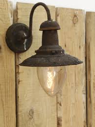 home s single industrial style lantern wall light