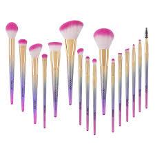 docolor makeup brushes 16pcs professional fantasy make up brush set foundation blending blush concealer eye shadow free synthetic face liquid