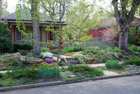 Drought Landscaping 5 Inspiring Lawnfree Yards  SFGateLawn Free Backyard
