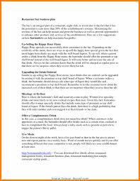 Restaurant Business Plan Template Excellent Business Plan Format For Restaurant Restaurant Business 10