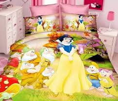 snow white and the 7 dwarfs twin duvet