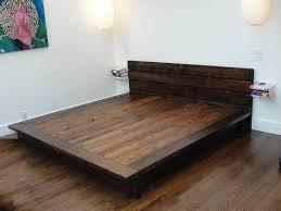 platform bed frame simple home best 20 diy ideas on furniture