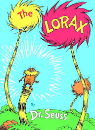 the lorax book cover pages