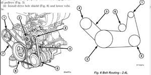 moreover Dodge Plymouth Chrysler 2 4L Head Gasket Timing Belt   Part 1 likewise SOLVED  Need diagram of heater hose route from engine to r   Fixya in addition Dodge Ram 2002 2008 How to Replace Serpentine Belt   Dodgeforum additionally  also Dodge Grand Caravan Repair Manual 1990 2011 likewise belt diagram for dodge caravan 94 3 3 with air furthermore Dodge Ram 2002 2008 How to Replace Serpentine Belt   Dodgeforum also  furthermore Changing Serptentine Belt  Tension Pulley  and Idler Pulley   2008 further Dodge stratus 2002 serpentine belt diagram   Fixya. on 2005 dodge caravan belt diagram