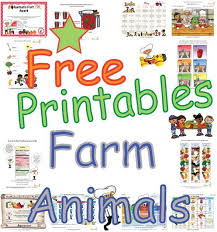 Farm Animals Educational Worksheets And Activities That