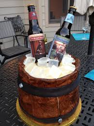 Craft Beer Bottle Cake Village Cakecraft