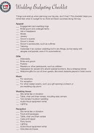 Free Wedding Budget Worksheets 14 Templates For Excel