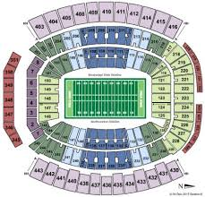 Tiaa Bank Field Seating Chart With Rows And Seat Numbers Gator Stadium Seating Chart Seating Chart