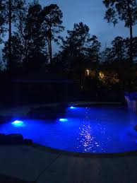Inground pools at night Backyard Inground Swimming Poolnight Timeled Lights Pinterest Inground Swimming Poolnight Timeled Lights Pools By Mitchell
