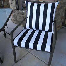 black and white striped patio chair cushions wicker outdoor cushions black white stripe cushions black patio chair cushions