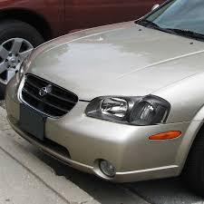 2001 Nissan Maxima Lights For 2000 To 2001 Nissan Maxima Euro Style Headlight Black