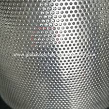 perforated metal screen. China Stainless Steel Perforated Metal Screen Sheet Punching Hole Wire Mesh M