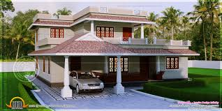 4 bedroom kerala style house in 300 square yards kerala for 300 yards house plan