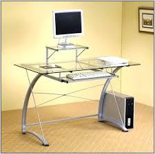 glass top office desk modern. ikea desk top glass office modern computer canada o