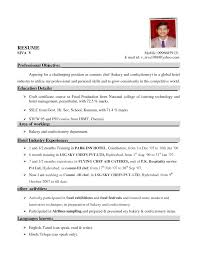 Resume Sample For Hotel Chef Yahoo Image Search Results Hotel