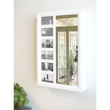 wall mount jewelry armoire mirror. Furniture: Classic Wall Mounted Jewelry Armoire Cabinet Ideas - Mirrored Mount Mirror T