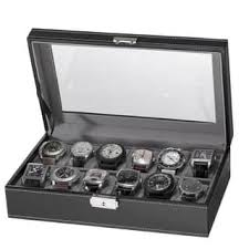 Standing Watch Display Case Watch Boxes For Less Overstock 58