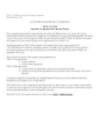 Capstone Project Proposal Template Writing A Graduate