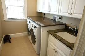 countertop over washer and dryer for laundry room granite marble and quartz traditional laundry room laundry room over