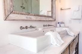 master bathroom trough sink cottage