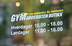 Gymgrossisten oslo öppettider
