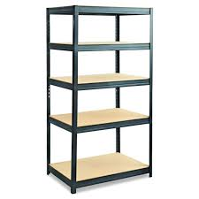 safco s 6247bl boltless steel and particleboard shelving 36 w x 24