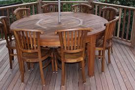bryn athyn teak round table