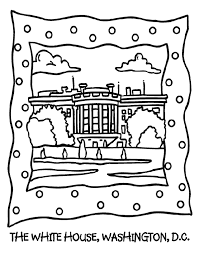 Small Picture The White House Coloring Page crayolacom