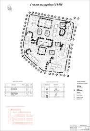 Благоустройство курсовая работа территории парка Чертежи РУ Курсовой проект Комплексное инженерное благоустройство жилого микрорайона в системе района Свиблово