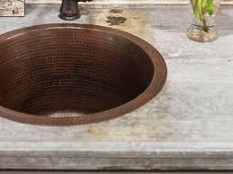 galvanized tin countertop