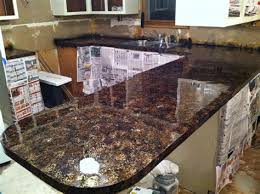 image of faux granite countertops l and stick