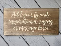 wood signs sayings personalized signs