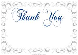 Thank You Card Modern Images Of Thank You Card Template Free