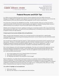 What Is The Best Resume Format Fresh 21 Federal Resume Format