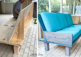 diy outdoor sofa. Step 3 - Make A DIY Outdoor Sofa From Plywood Love The Minimalist Lines! Diy